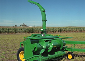 implements forage harvester